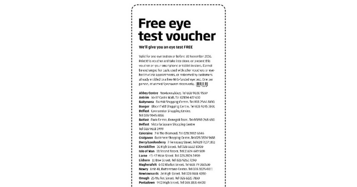 00360b442f46 Specsavers discount code nz – places to print coupons – Coupon 123fleurs