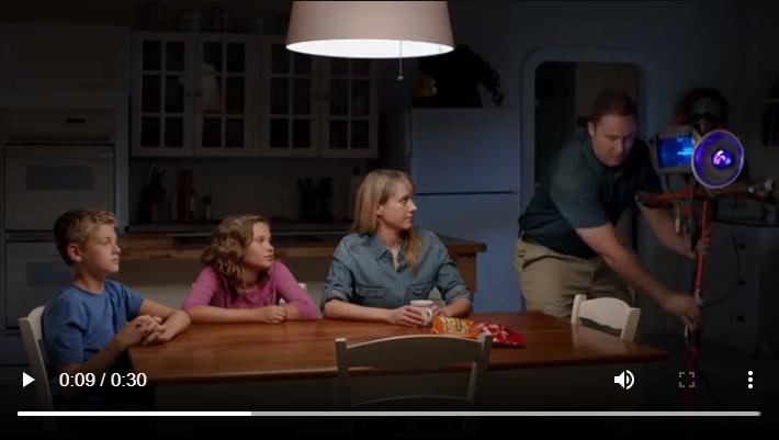Cheetos YouTube ad