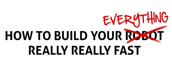 Charles Guan: Build Your Everything Really Really Fast