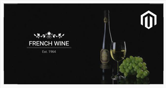 Magento wine theme
