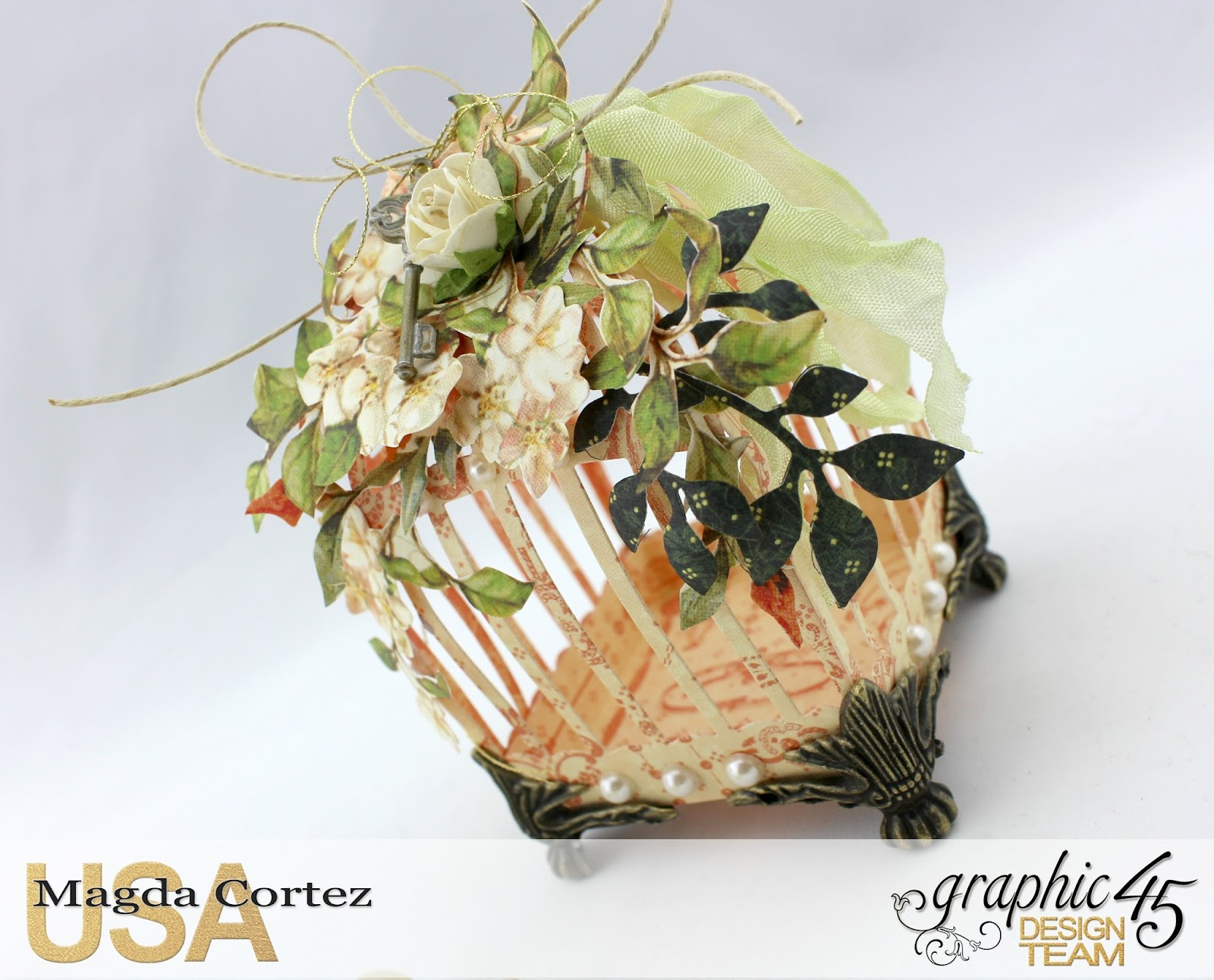 3D Birdcages Simply 45-Wedding Favor- Secret Garden By Magda Cortez, Product By G45, Photo 05 of 06, Project with Tutorial.jpg