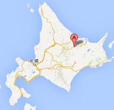山の水族館・地図