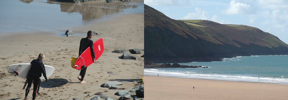 Explore the fantastic surfing beaches in Devon and the extra swell that appears in the autumn.
