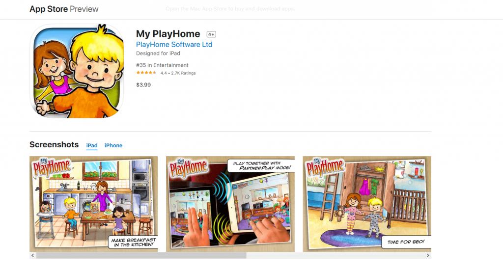 My Play Home لل IOS متوفرة على Apple App Store