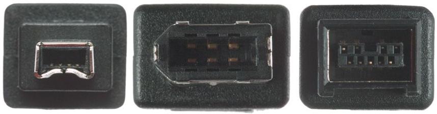 FireWire 400 4-pin, FireWire 400 4 pin FireWire 400 6-pin, FireWire 400 6 pin FireWire 800 4-pin, FireWire 800 4 pin FireWire 800 6-pin, FireWire 800 6 pin FireWire 800 9-pin, FireWire 800 9 pin FireWire 4-pin, FireWire 4 pin FireWire 6-pin, FireWire 6 pin FireWire 9-pin, FireWire 9 pin