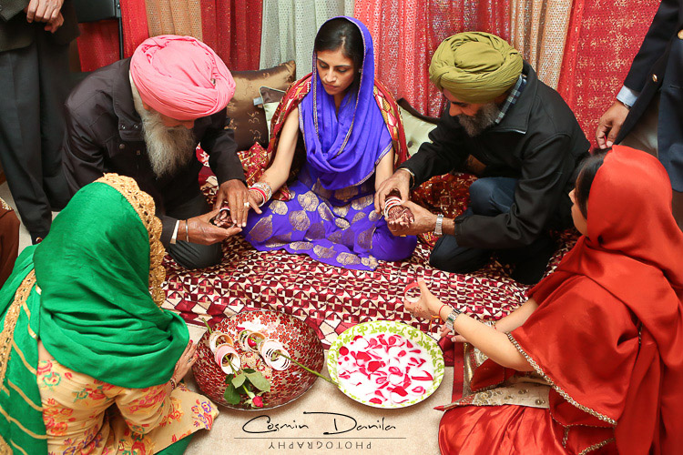 traditional sikh wedding