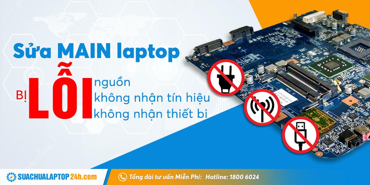 sửa main laptop TPHCM