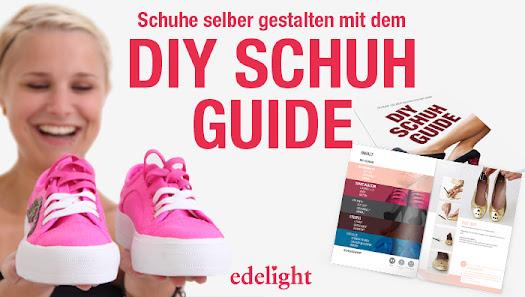 diy schuh guide schuhe selber gestalten. Black Bedroom Furniture Sets. Home Design Ideas