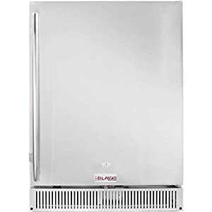 7. Blaze Outdoor Rated Stainless-Steel Refrigerator (BLZ-SSRF-50DH), 5.2 Cu Ft.