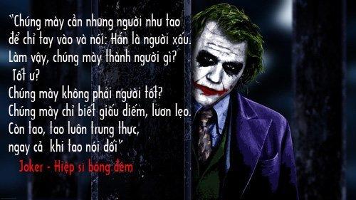 Những câu nói hay của Joker với triết lý thâm sâu-2