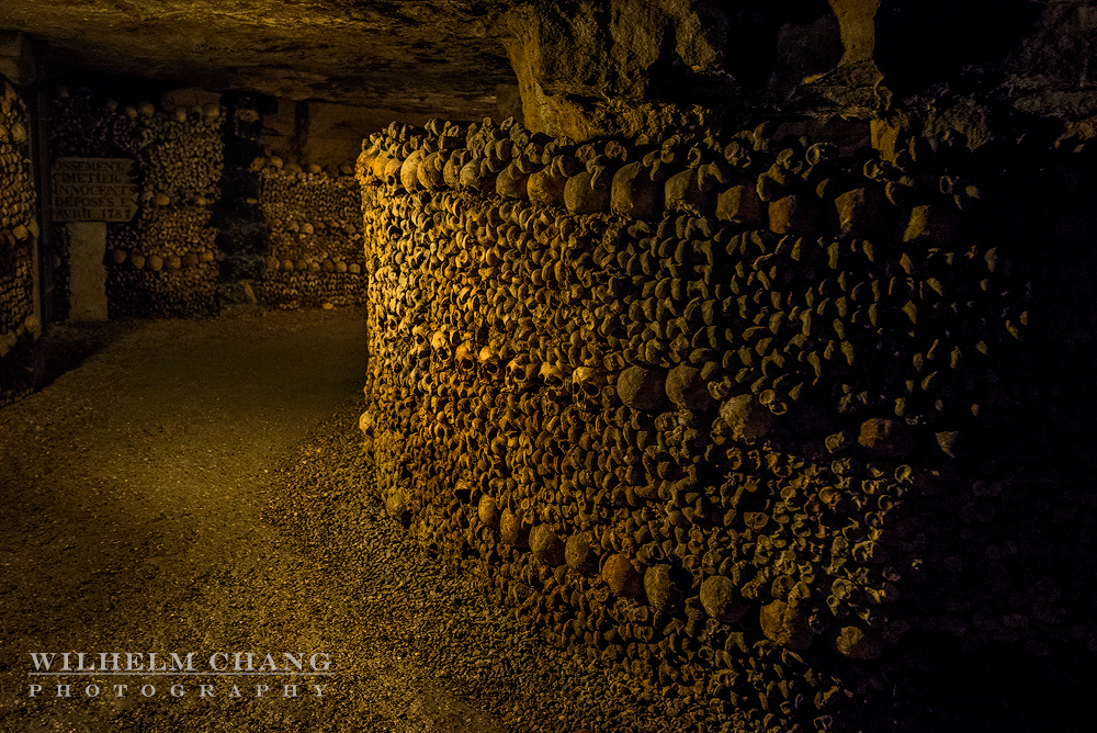 到巴黎攝影 巴黎地下墓穴 Catacombes de paris