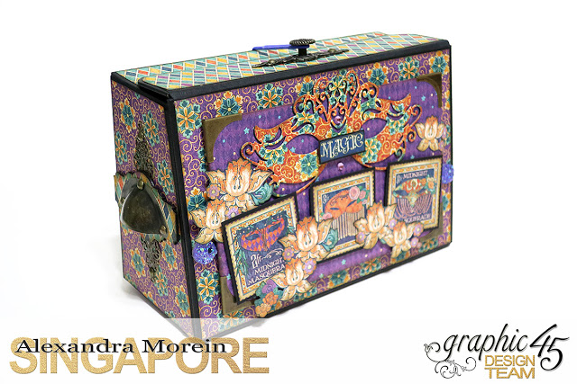 Midnight Masquerade Photo Storage Box, Tutorial by Alexandra Morein, Product by Graphic 45, Photo 3.jpg