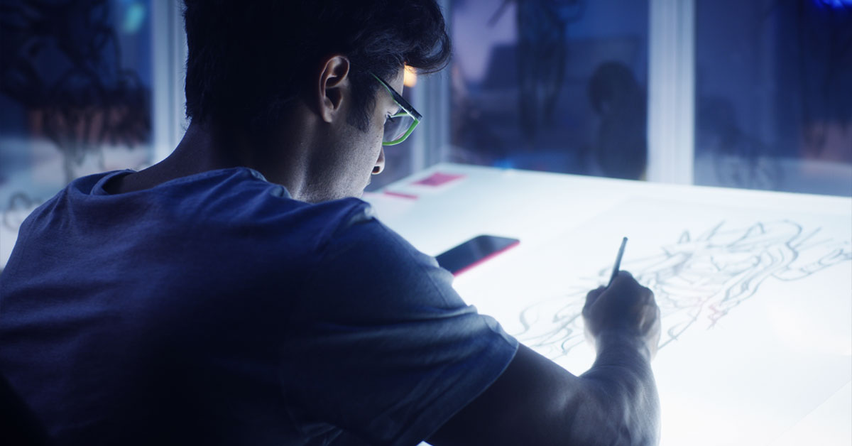 You can become a game animator with Entertainment and multimedia computing