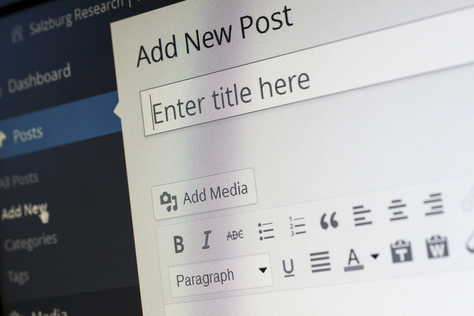 Niche SEO copywriters blogging on wordpress