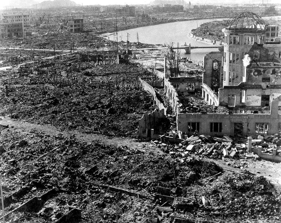Хіросіма після атомного бомбардування