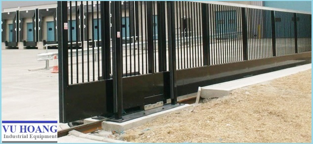 Thiết kế trượt của cổng mở tự động