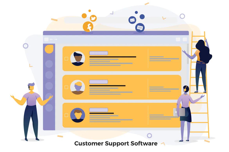 Программное обеспечение поддержки клиентов