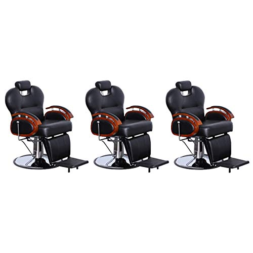 Three Purpose Hydraulic Recline Salon Beauty Spa Shampoo Styling Chairs