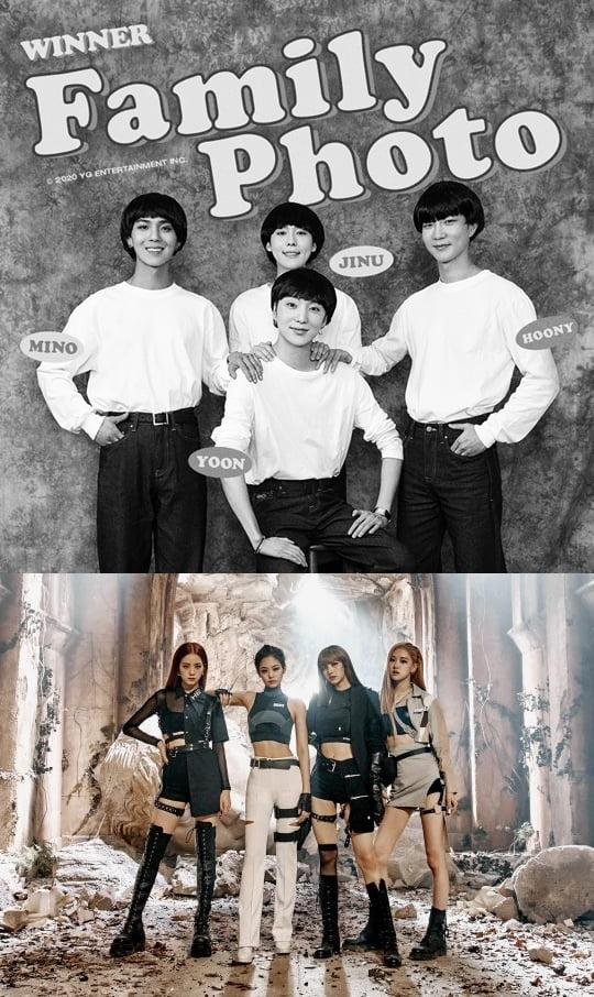 그룹 위너, 블랙핑크 / 사진제공=YG엔터테인먼트