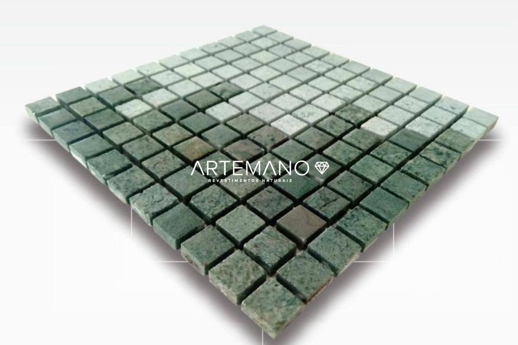 pedra hijau molhada e seca revestimentos naturais artemano