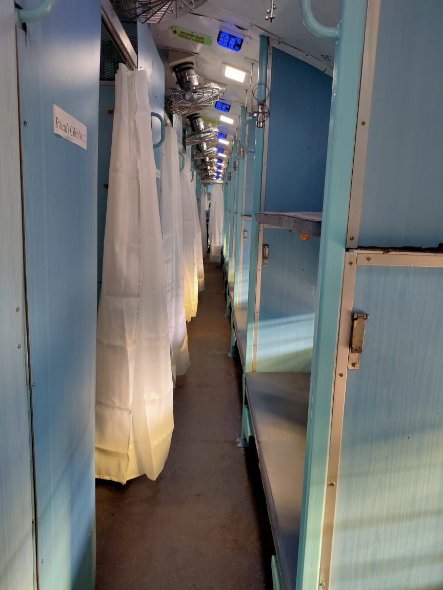 #Covid19: Railways Will Convert Thousands Of Coaches Into Isolation Ward; Here's The Prototype