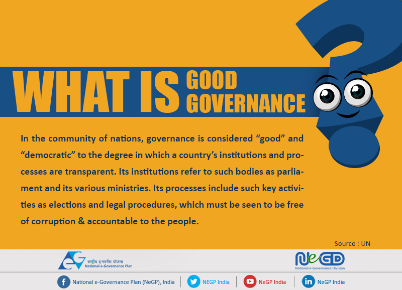 Image result for good governance india