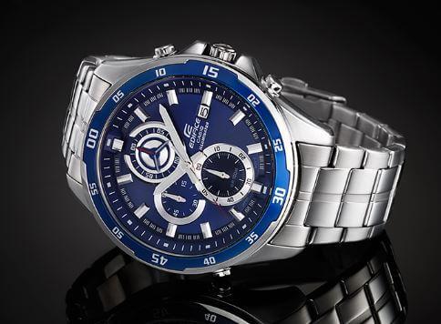 Vài nét đậm đà trong thiết kế đồng hồ casio edifice efr-547d-2a