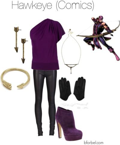 hawkeye avengers outfit idea