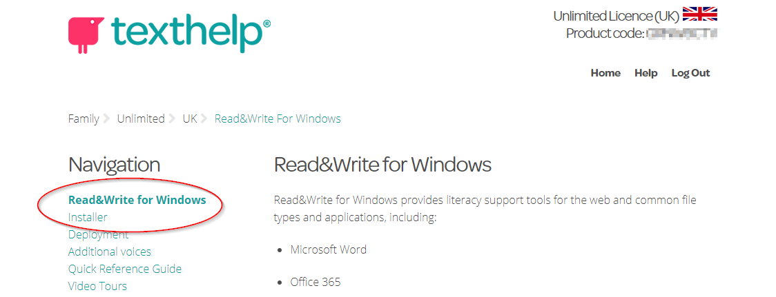 Read&Write Essentials