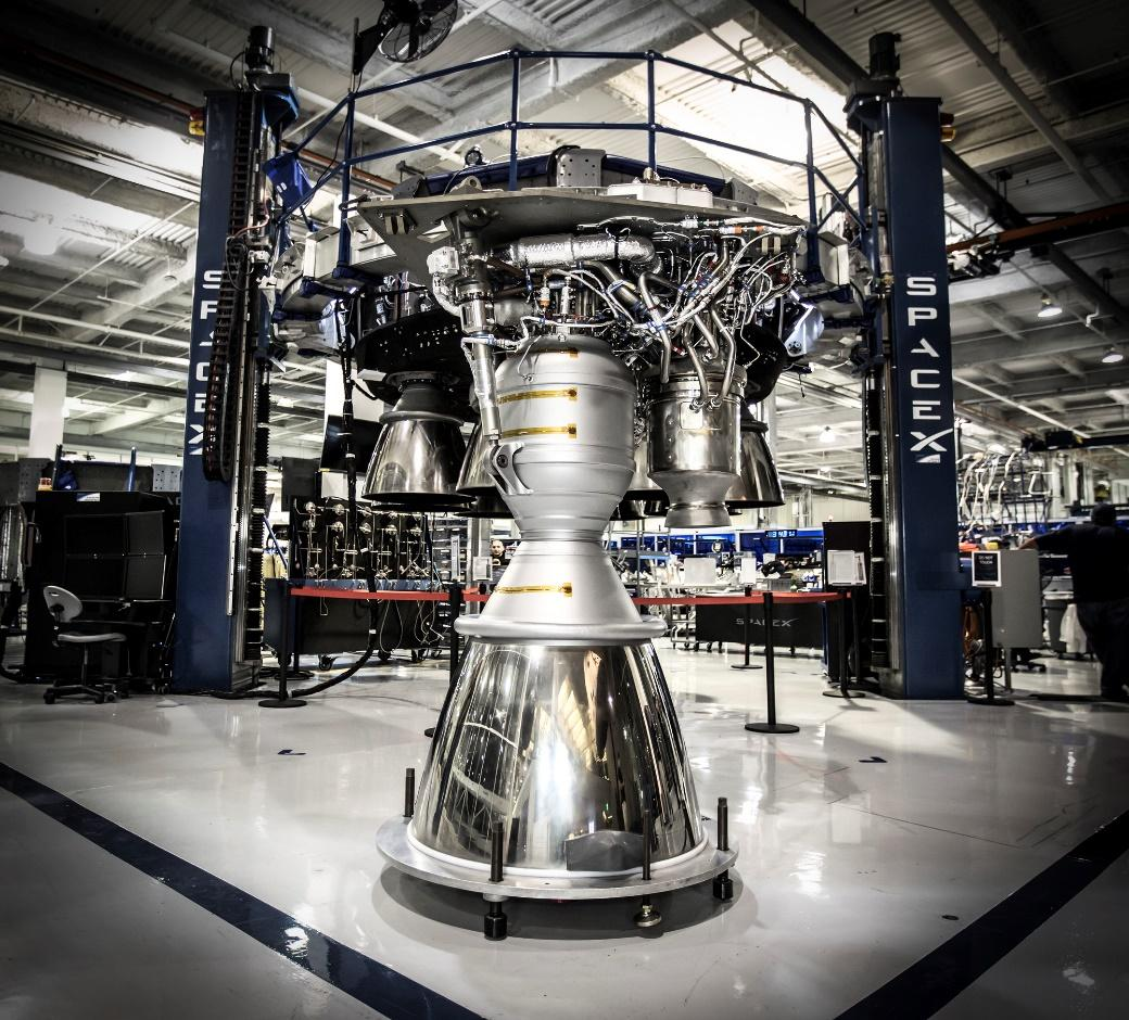 Image result for spaceX's rocket engine