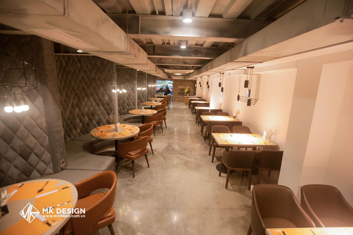 Mẫu thiết kế nhà hàng đẹp nhất 2021