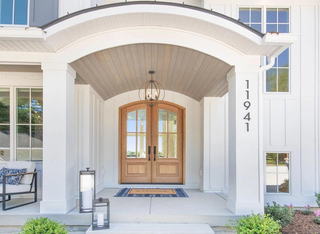 Double Farmhouse Entry Door (Exterior) from Pella