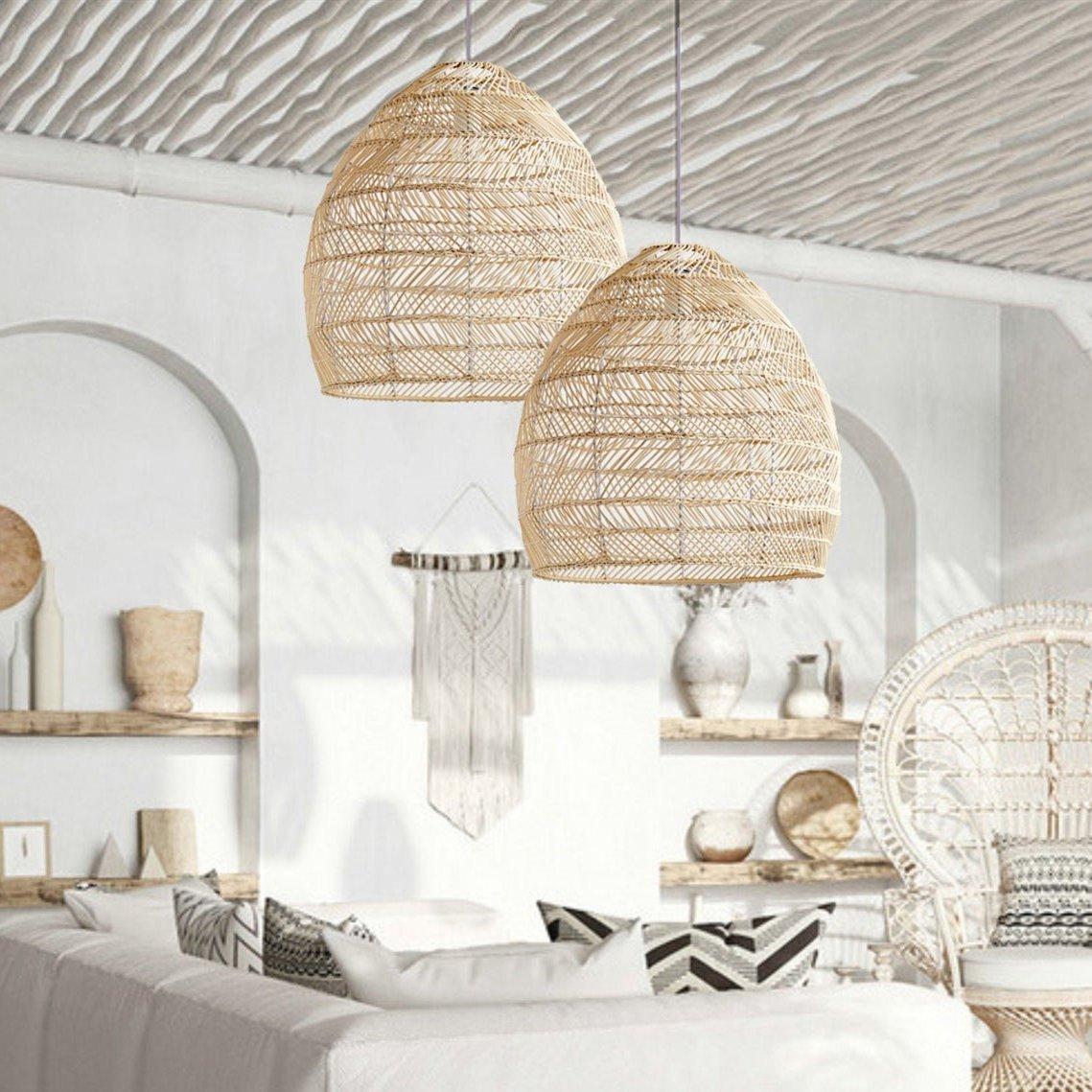 Rattan Woven Pendant Light Ideas