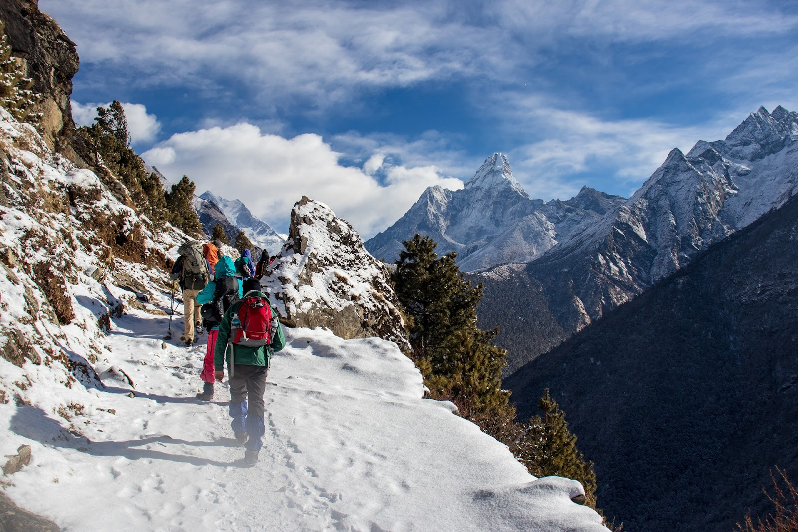 Trekking en nepal Manaslu