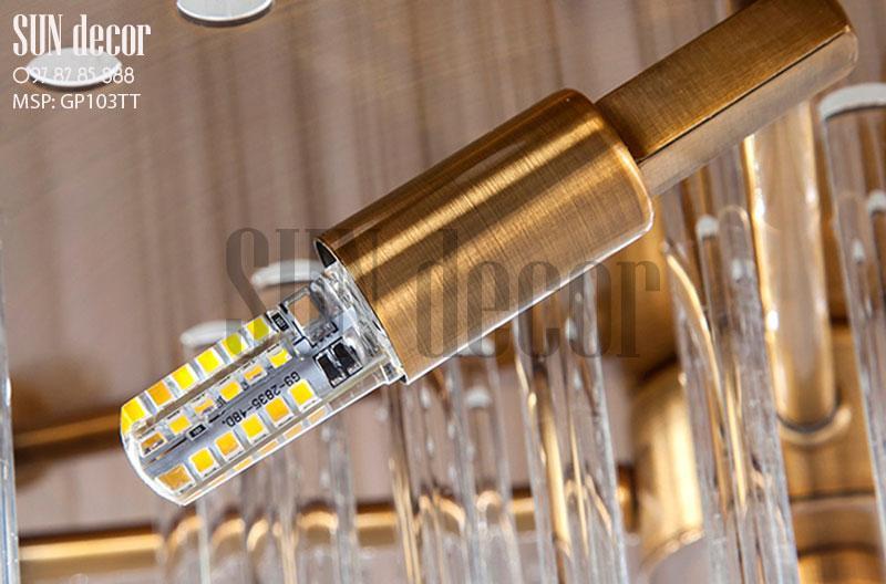 Đèn chùm pha lê - Đèn chùm hiện đại GP103TT