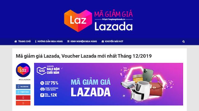 Hãy đến với magiamgialazada.vn để nhanh chóng sở hữu mã Coupon Lazada như ý nhất