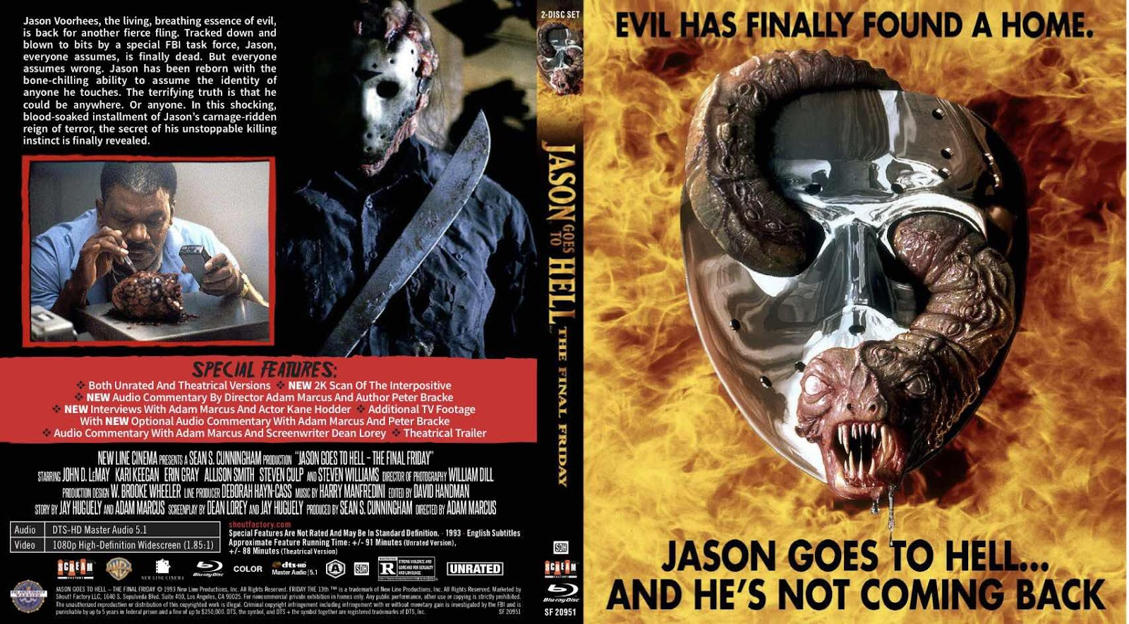 Check Out Each Film Cover Of Scream Factory's Friday The 13th Box Set