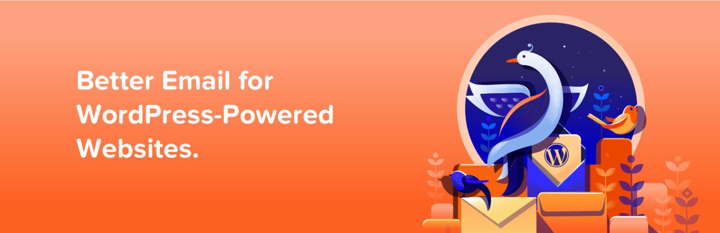 MailPoet's WordPress SendGrid plugin header