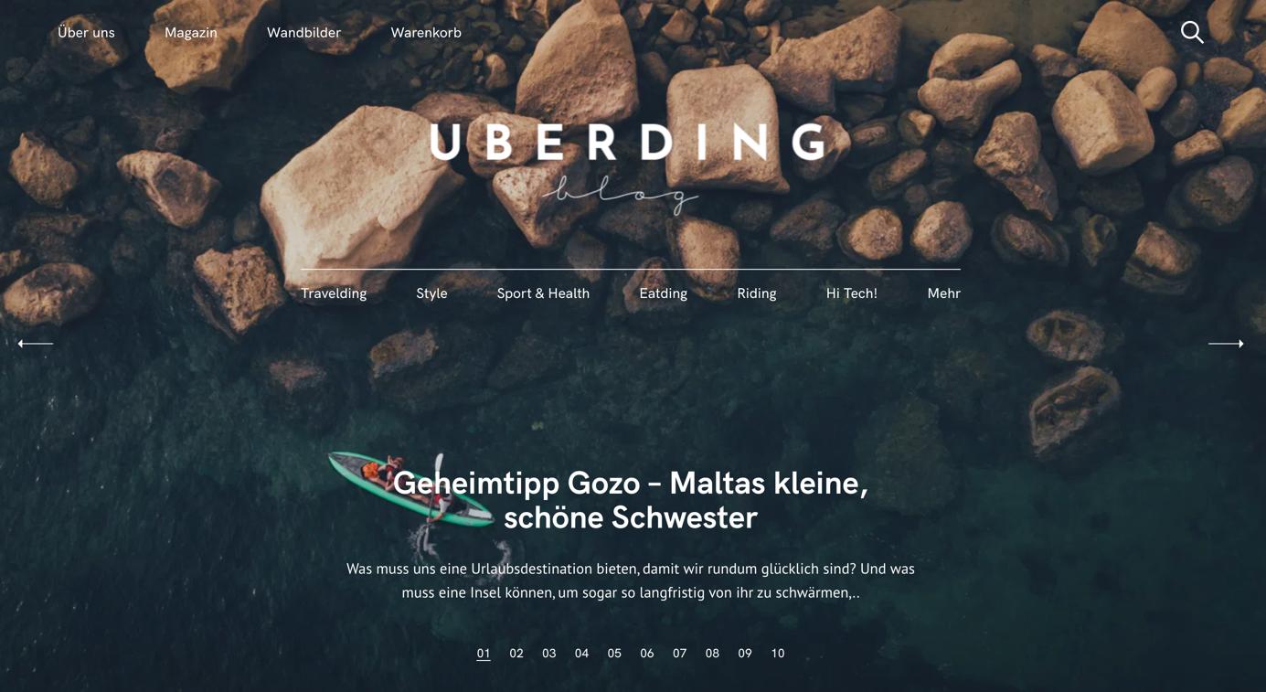 blog design von uberding
