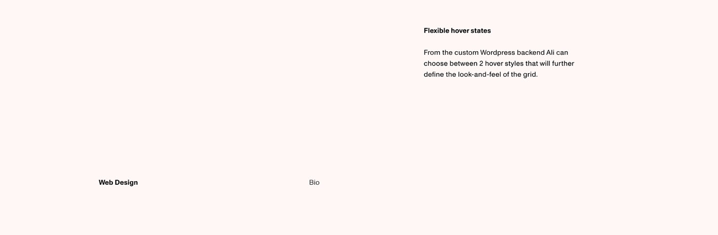 flexible hover states
