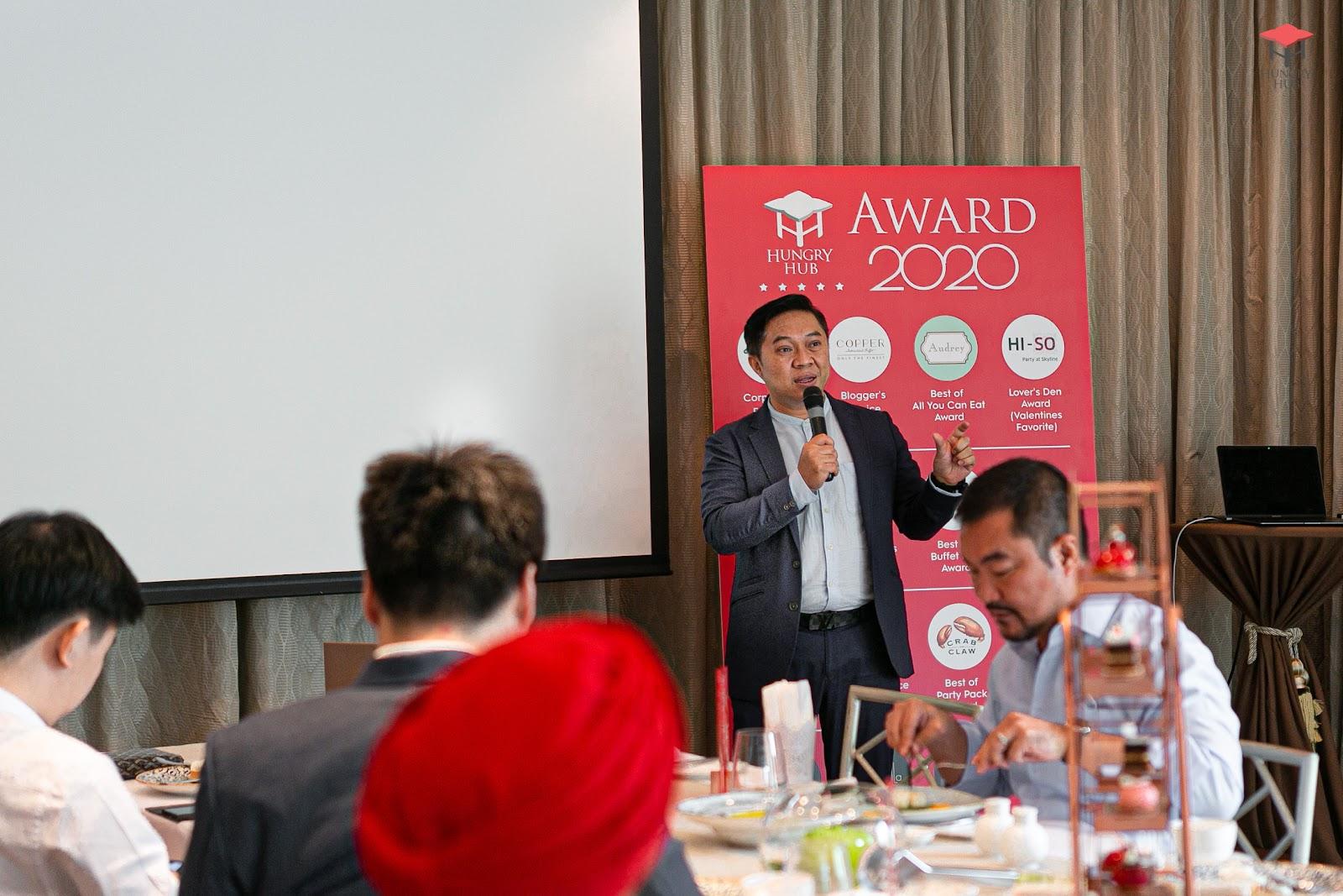 เทคนิคดันยอดขายร้านอาหาร จากคอปเปอร์ บุฟเฟ่ต์ ในงาน Hungry Hub Award 2020