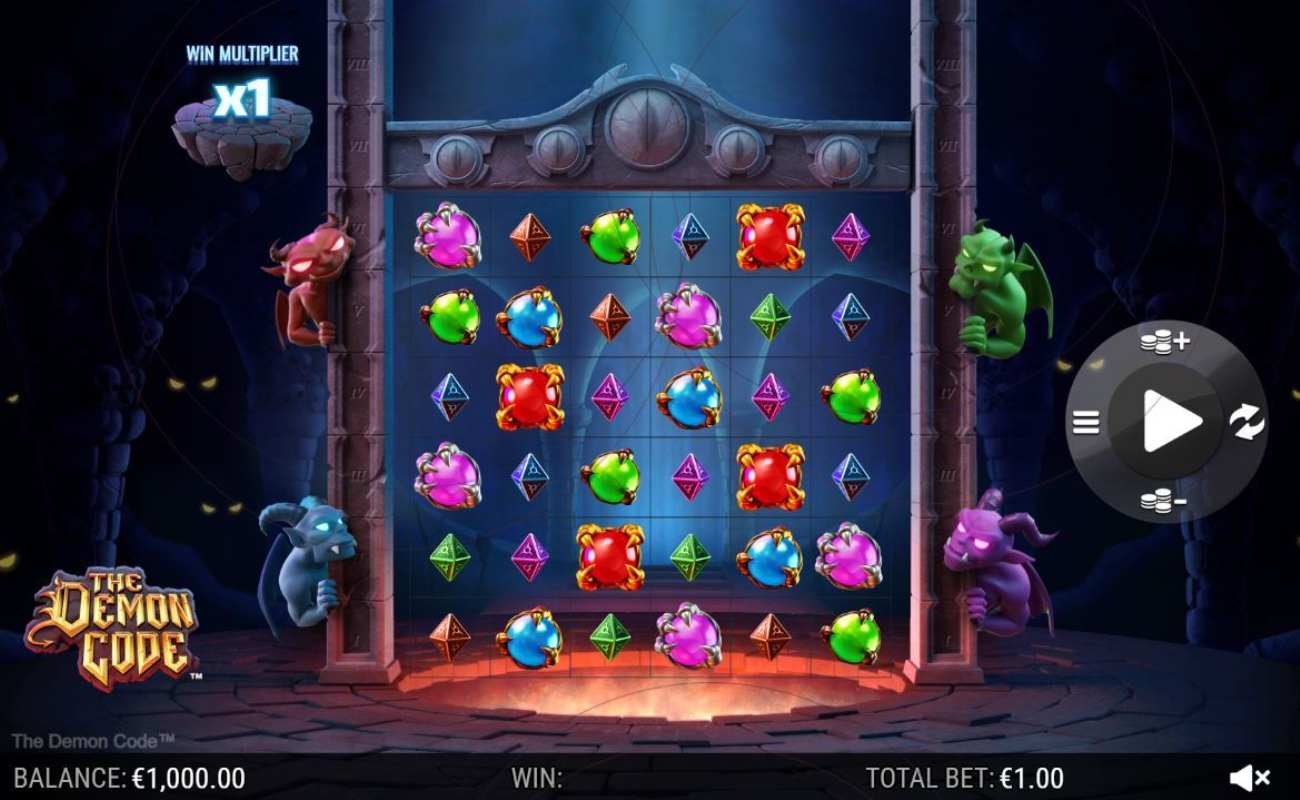 Demon Code by NYX online slot casino game