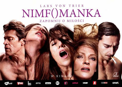 Przód ulotki filmu 'Nimfomanka'