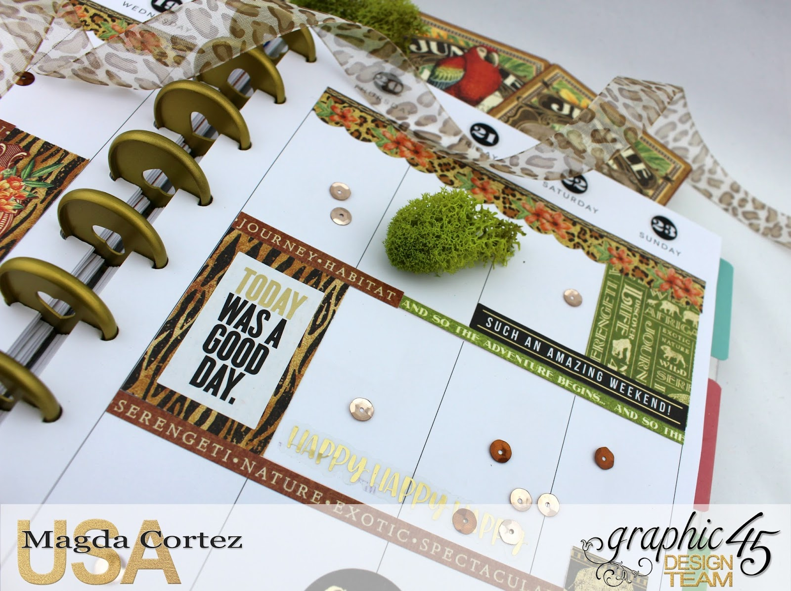 My JULY G45 Planner,Safari Adventure By Magda Cortez, Product by G45, Photo 17 of 20.jpg