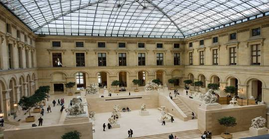 Louvre Museum History Summary