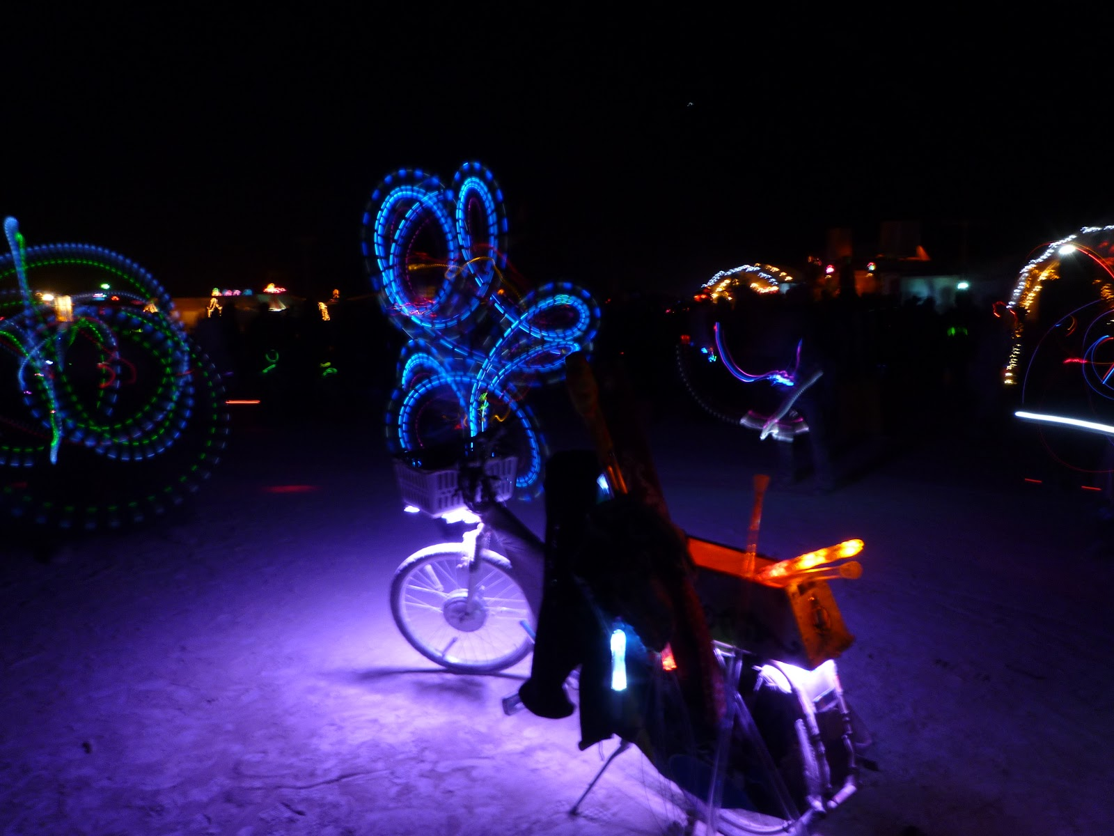battery-powered bike lighting
