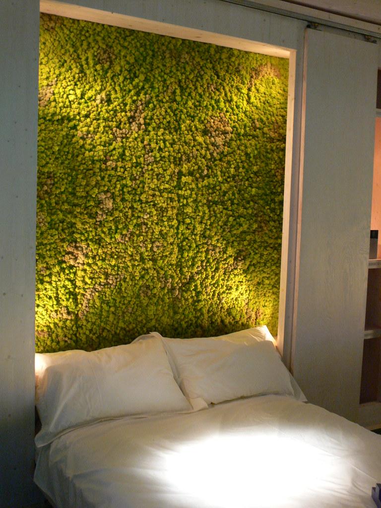 A Vertical Garden Bedroom