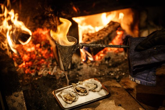 Flambadou Used to baste BBQ Oysters