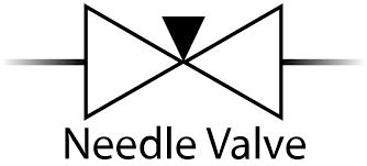 Needle valve symbol