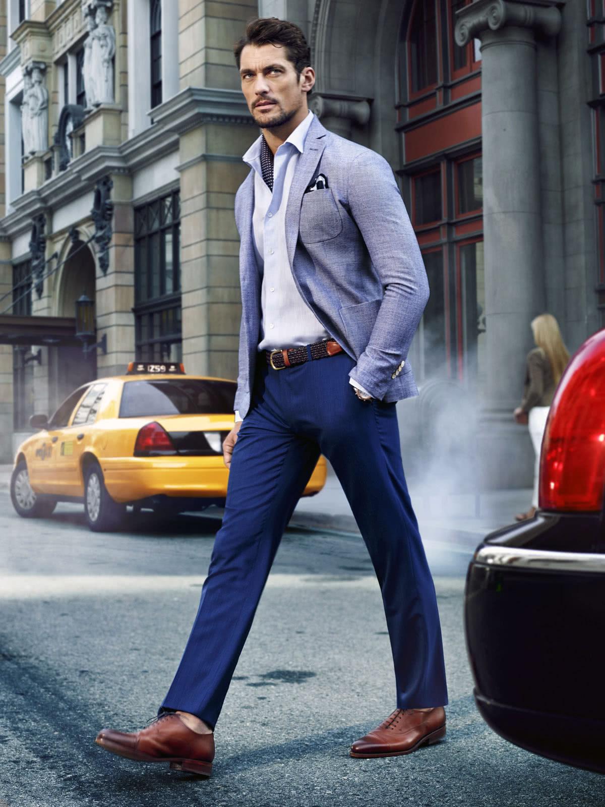 Man in smart casual attire